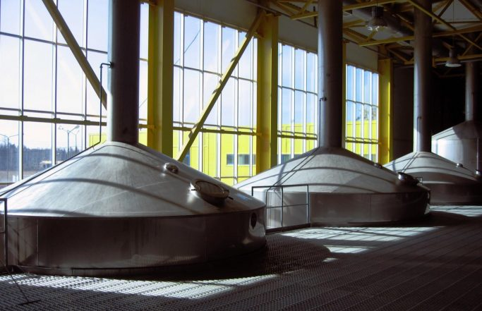 Brauerei in Angarsk, Irkutsk