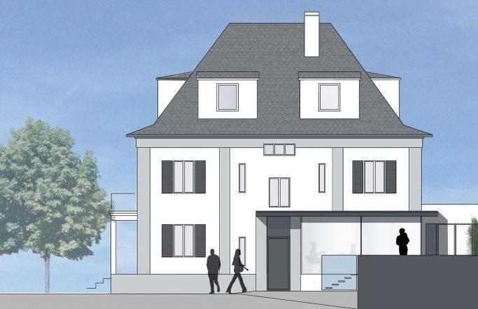 Haus B. im Rheingau